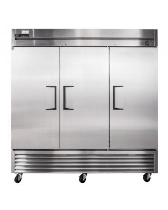 Réfrigérateur 3 Porte Inox,  72pi.cu