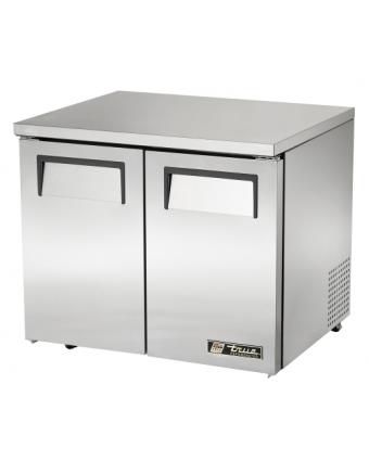 """Réfrigérateur sous-comptoir deux portes pleines 8,5 pi³ - Roues de 2,5"""""""
