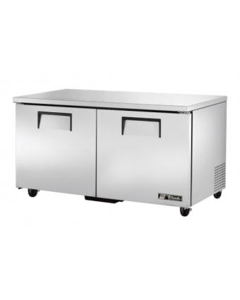 Réfrigérateur sous-comptoir deux portes pleines 15,5 pi³