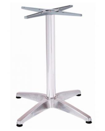Base de table de bar - Aluminium