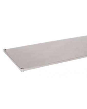 """Tablette inférieure en acier inoxydable pour table de travail 60"""" x 18"""""""