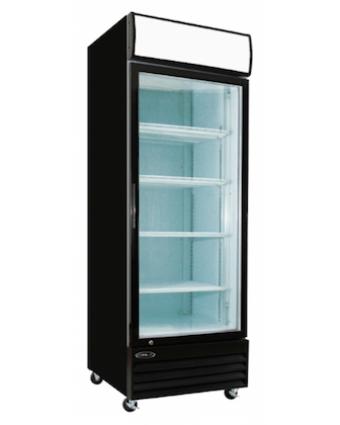 Réfrigérateur une porte vitrée 20,9 pi³ - Noir