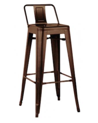Tabouret de Bar Lixto – Bronze