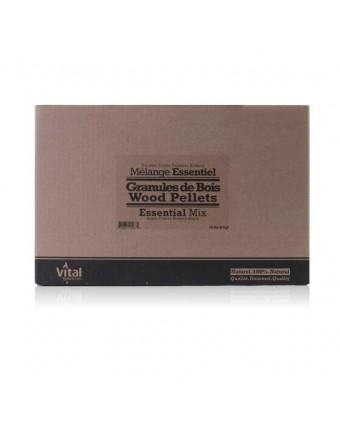 Mélange de granules de bois Essentiel - 20 lb