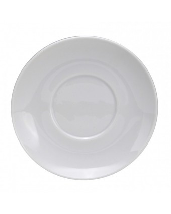 "Soucoupe ronde 6,375""- Oneida Porcelain"