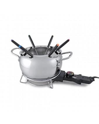 Ensemble à fondue électrique en acier inoxydable - Mont Brule
