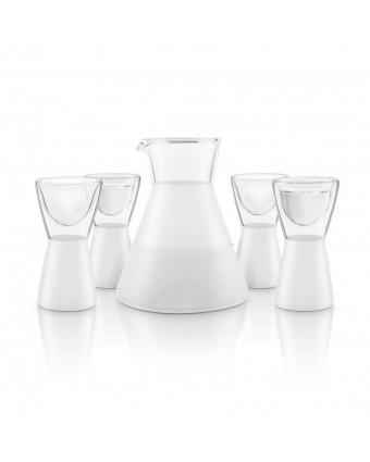 Ensemble décanteur et verres à saké