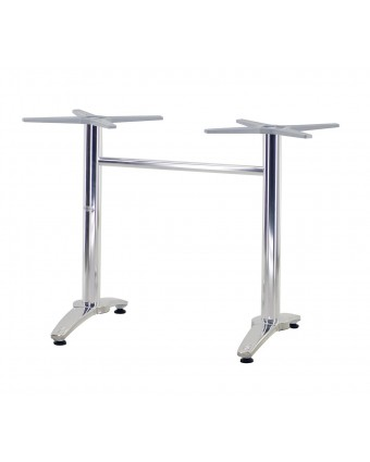 "Base de table Yale 29,5"" - Argent"