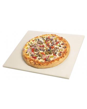 """Pierre à pizza en grès 14"""" x 15,5"""""""