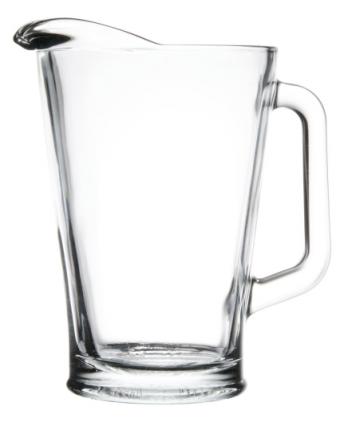 Pichet en verre 60 oz - Transparent