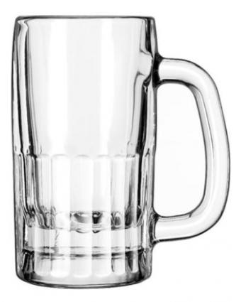 Chope à bière 10 oz