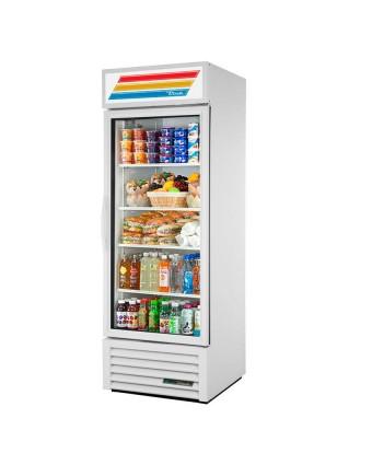 Réfrigérateur une porte vitrée 23 pi³ - Acier inoxydable