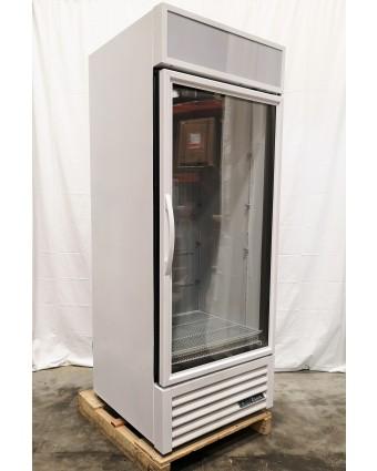 Congélateur une porte vitrée 26 pi³ - Blanc (endommagé)
