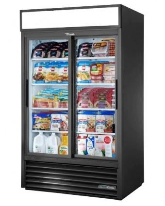 Réfrigérateur deux portes coulissantes 41 pi³ - Blanc