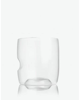 Ensemble de quatre verres à whisky en plastique 14 oz
