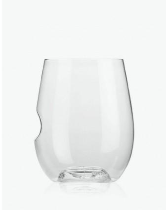 Ensemble de quatre verres à cocktail en plastique 12 oz