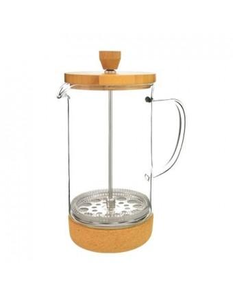 Cafetière à piston Melbourne 8 tasses - Bambou et liège