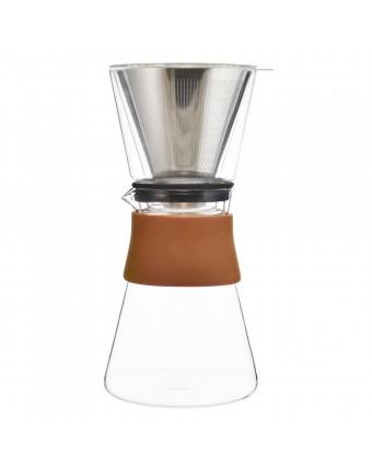 Cafetière à filtre Amsterdam 2 ou 3 tasses - Transparent