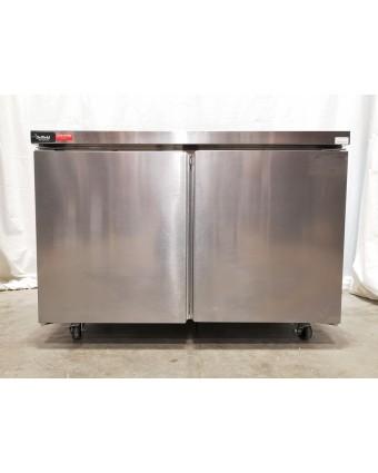 Réfrigérateur sous-comptoir deux portes pleines 12,5 pi³ (endommagé)