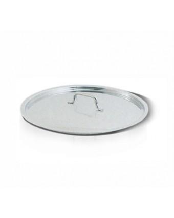 Couvercle en acier inoxydable pour contenant en acier inoxydable 6,25''