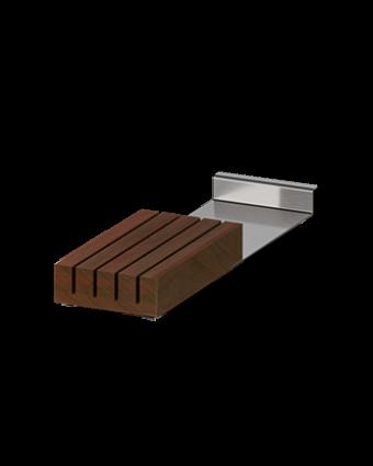 Bloc pour couteaux de table - Noyer