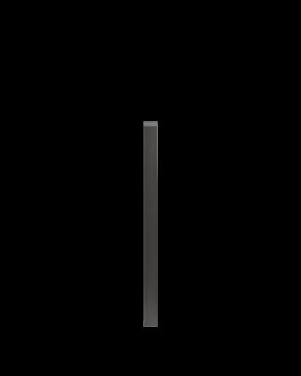 """Pièce de finition verticale Pure 2"""""""