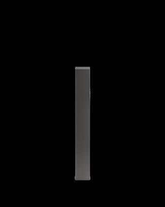 """Pièce de finition verticale Pure 4"""""""