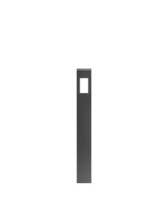 """Pièce de finition verticale avec insertion pour boîte électrique 4"""""""