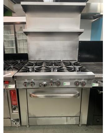 Cuisinière au gaz naturel (usagée)