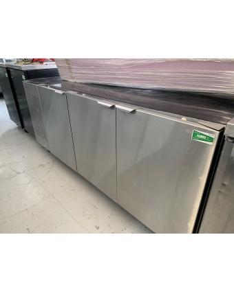 Réfrigérateur sous-comptoir trois portes pleines (usagé)