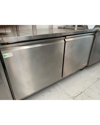 Réfrigérateur sous-comptoir deux portes pleines (usagé)
