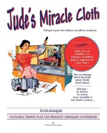 Linge en microfibre Jude's Miracle - Blanc