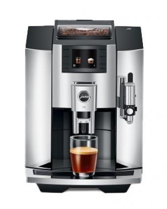 Machine à café automatique E8 - Chrome