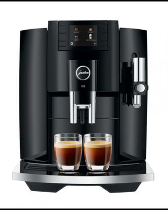Machine à café automatique E8 - Noir piano