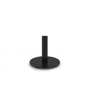 """Base de table ronde en acier 24"""" x 28,5"""" - Noir"""