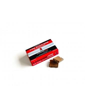 Carrés allume-feux - Boîte de 24