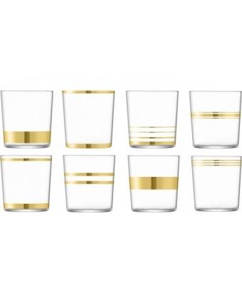 Ensemble de huit verres old-fashioned 13 oz – Deco