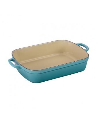 Plat de cuisson en fonte émaillée rectangulaire 4,9 L - Caraïbes