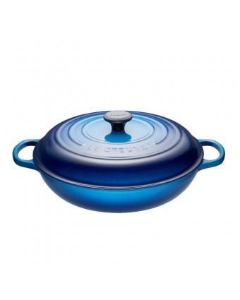 Braisière en fonte émaillée avec couvercle 4,7 L - Bleuet