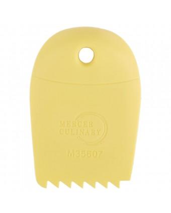 Décorateur d'assiette en forme de dents de scie