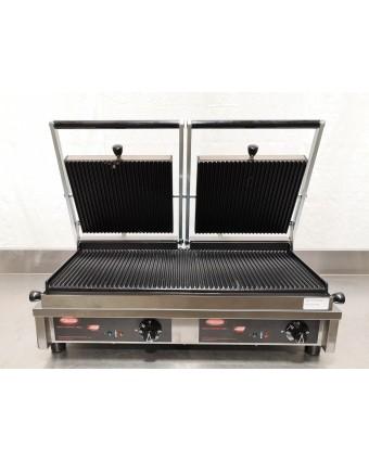 Grille-panini à nervures double - 2820 W (endommagé)