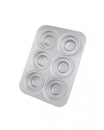 Moule à muffins en aluminium anodisé
