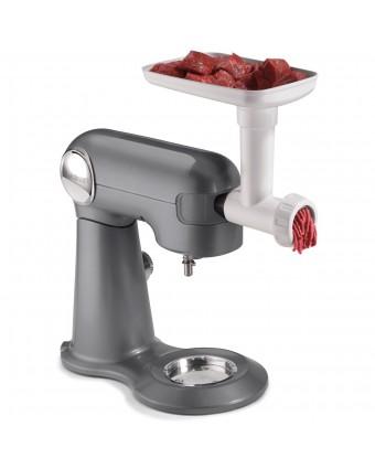 Hachoir à viande avec adapteur à saucisses pour batteur sur socle