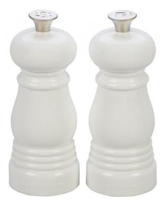 Ensemble moulins à poivre et sel 4,5'' - Blanc