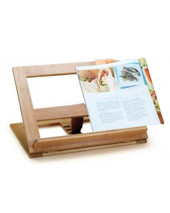 Support pour livre de recettes en bambou