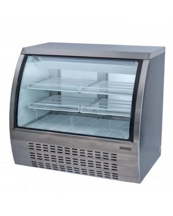 Présentoir réfrigéré 18 pi³ – Vitre courbée