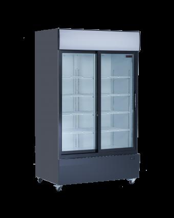 Réfrigérateur deux portes coulissantes 38 pi³