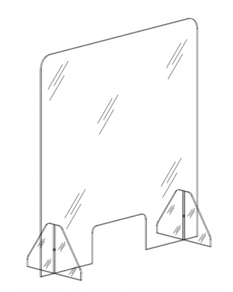 Panneau de protection en Plexiglass