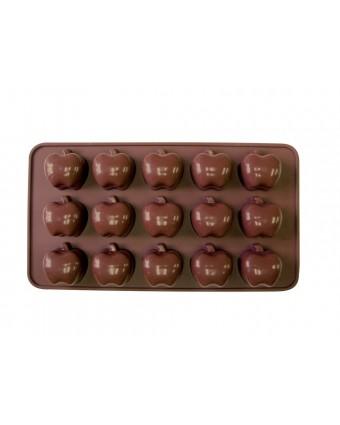 Moule à chocolats en silicone - Pommes