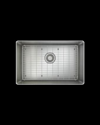 """Évier simple en acier inoxydable avec grille ProInox H75 25"""" x 16"""" x 9"""""""